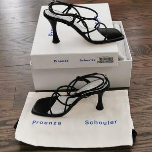 Proenza schouler sandal heel, black size 36